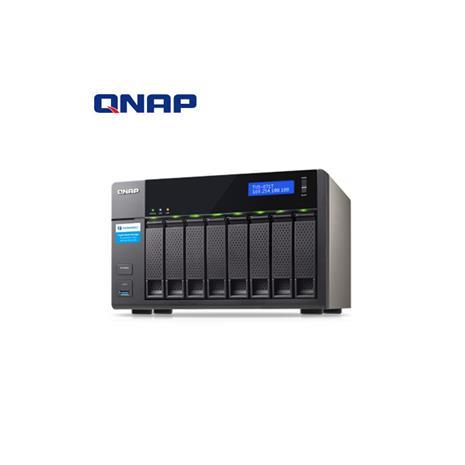 QNAP威聯通 TVS-871T-I7-16G 8Bay網路儲存伺服器