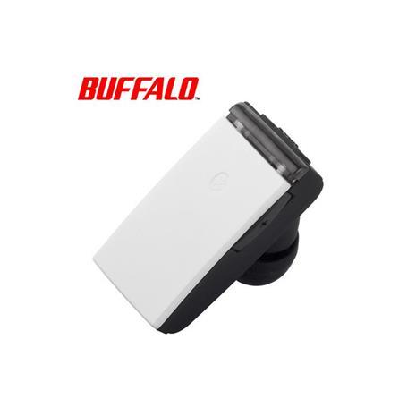 BUFFALO 巴比祿 BSHSBE23 BT4.0 輕小型藍牙耳麥 白