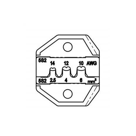 Pro'sKit CP-5S2D  太陽能MC4端子口模
