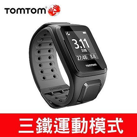 TOMTOM SPARK 健身運動手錶(黑色寬錶帶)