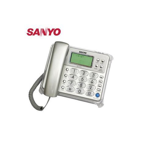 SANYO 三洋 來去電報號合弦鈴聲有線電話 TEL-813 銀