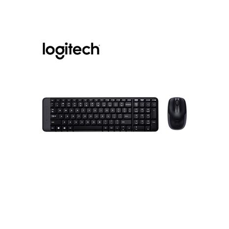 Logitech 羅技 MK220 無線滑鼠鍵盤組