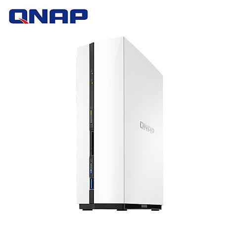 QNAP威聯通 TS-128-1G 1Bay網路儲存伺服器