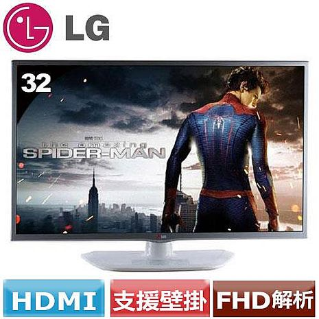 LG 32型廣視角液晶螢幕  32MB25VQ-W 白