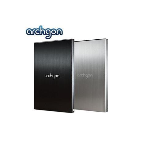 archgon亞齊慷 2.5吋USB3.0 SATA硬碟外接盒7mm(黑)-MH-2671-U3