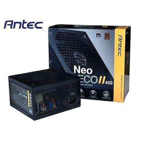 Antec安鈦克 NEO ECO II 450 450W 銅牌認證 電源供應器
