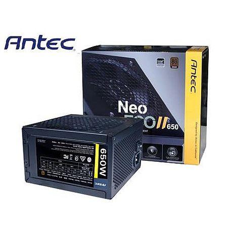 Antec安鈦克 NEO ECO II 650 650W 銅牌認證 電源供應器