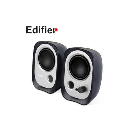 Edifier 漫步者 R12U 2.0聲道二件式喇叭 黑