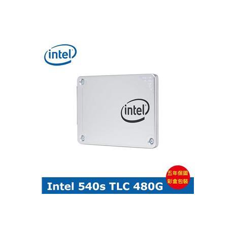 Intel 英特爾 540s系列 480G 2.5吋 SATA3 SSD 固態硬