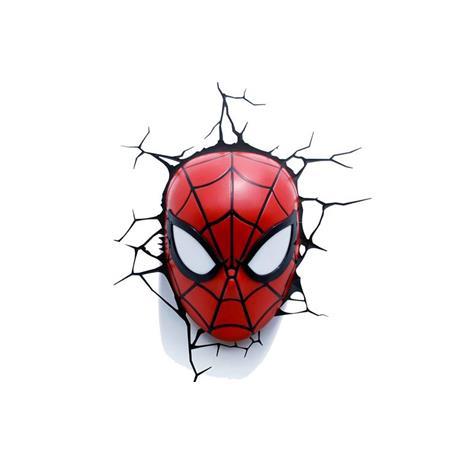 MARVEL復仇者聯盟 3D夜燈-蜘蛛人面罩
