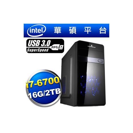 華碩H170平台【荒野嘯虎】i7四核燒錄效能電腦