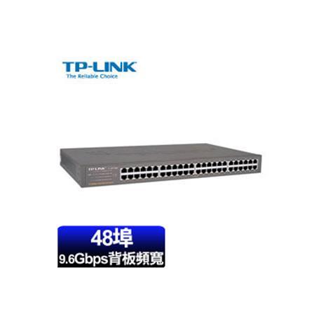 TP-LINK TL-SF1048 48埠 乙太網路交換器
