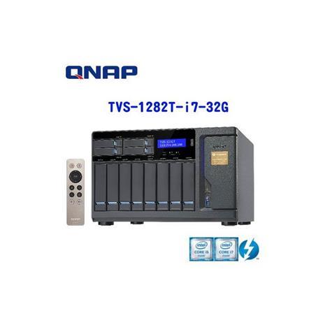 QNAP威聯通 TVS-1282T-i7-32GG 12Bay網路儲存伺服器