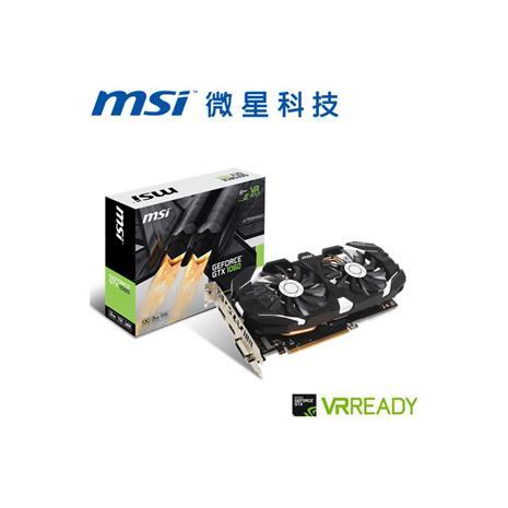 MSI微星 GeForceR GTX 1060 3GT OC 顯示卡