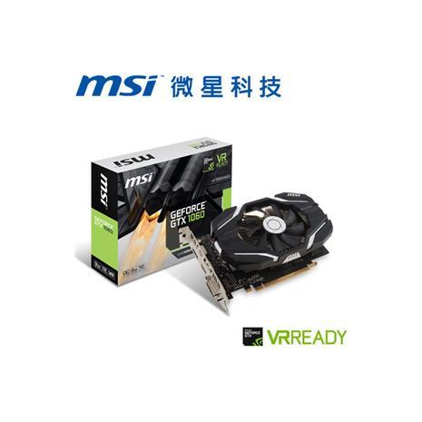 MSI微星 GeForceR GTX 1060 3G OCV1 顯示卡