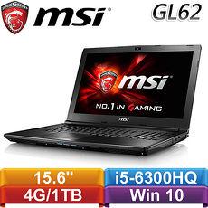 ~10月 ~送120G SSD~MSI微星 GL62 6QF~848TW~BB5630H4