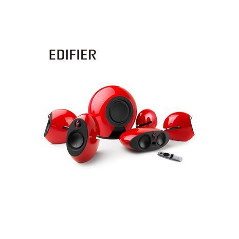 Edifier e255 漫步者 5.1 藍牙無線家庭影院音箱(紅)