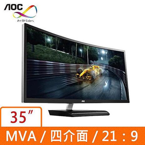 AOC  35型MVA曲面液晶螢幕 C3583FQ