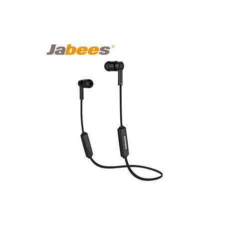 Jabees OBees 藍牙4.1 時尚運動防水耳機 - 黑色