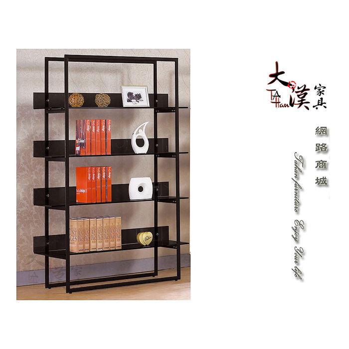 4尺玻璃書櫃