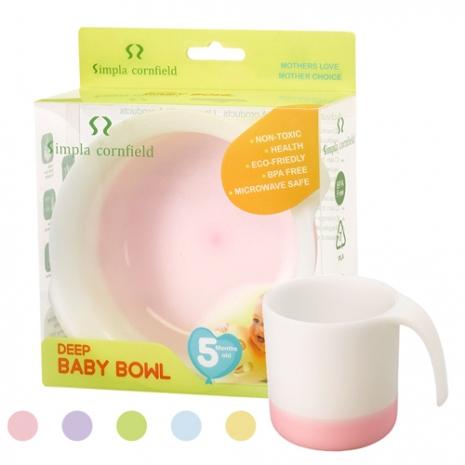 【Babytiger虎兒寶】SIM PLA 玉米田無毒環保餐具 嬰幼童學習杯 200ML 五色