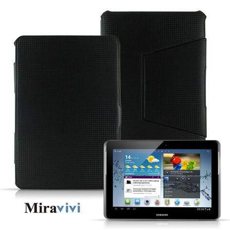 Miravivi Samsung Galaxy Tab2 10.1吋書本翻頁熱壓成型皮套