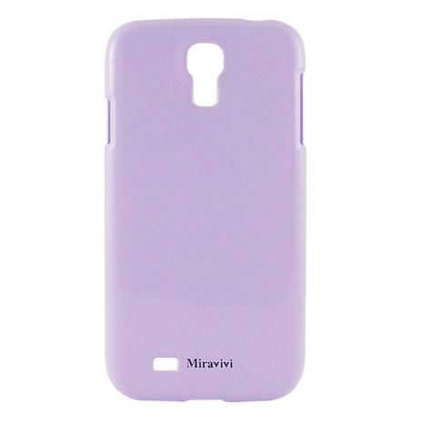 Miravivi Samsung Galaxy S4 i9500 粉嫩色系時尚保護彩殼-粉紫