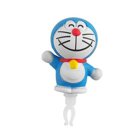 Doraemon 哆啦A夢 3D公仔系列耳機防塵塞 ~微笑哈囉