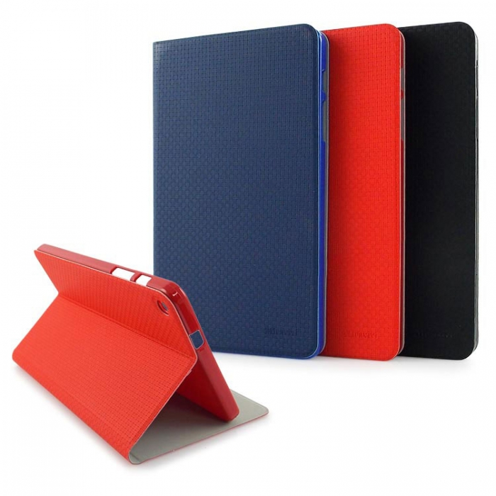 Miravivi HUAWEI MediaPad M1 8.0 專用編織紋筆記本皮套
