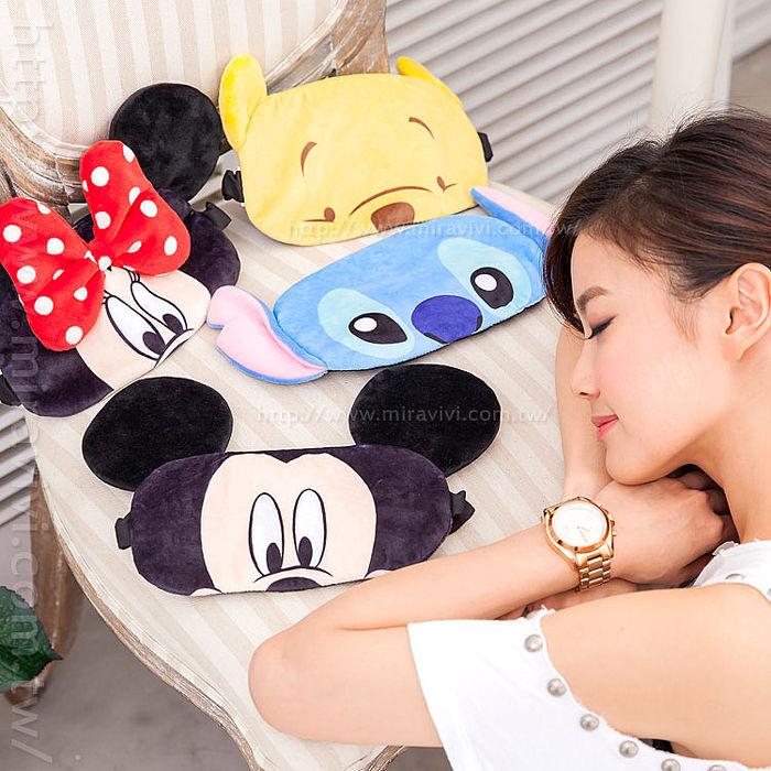 Disney 立體造型舒適/睡眠/旅行/遮光 成人眼罩(男女通用)