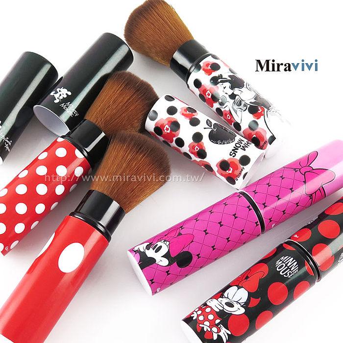 Disney 可伸縮彩妝刷具/修容刷/腮紅刷/蜜粉刷/定妝刷