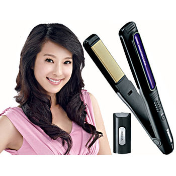 'Panasonic國際'多功能光觸媒 直髮 捲髮器 EH-HW18 /EHHW18