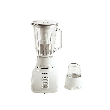 'Panasonic國際'  玻璃杯果汁機+乾濕兩用研磨杯 MX-GX1561 / MXGX1561