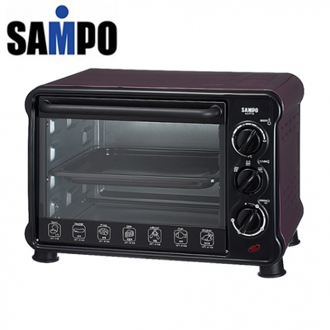 'SAMPO 聲寶'18公升 電烤箱 KZ-PU18/KZPU18