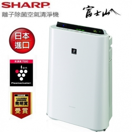 'SHARP' 夏普 8-14坪 日本製 空氣清淨機 KC-JD60T
