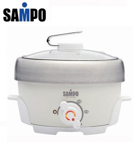 'SAMPO '☆聲寶 1.1L不鏽鋼電火鍋 TQ-L12112GL /TQL12112GL