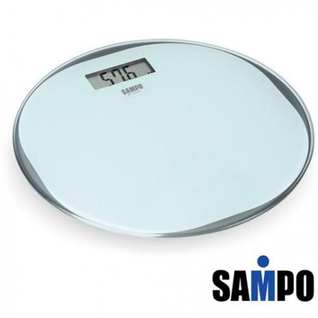 'SAMPO '☆聲寶 超薄型圓形電子體重計BF-L1302ML