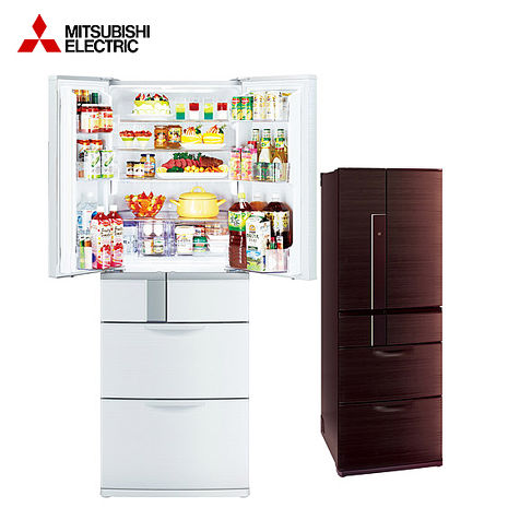 'MITSUBISHI'☆ 三菱 525L六門變頻冰箱 MR-JX53X  *含基本安裝+舊機回收*