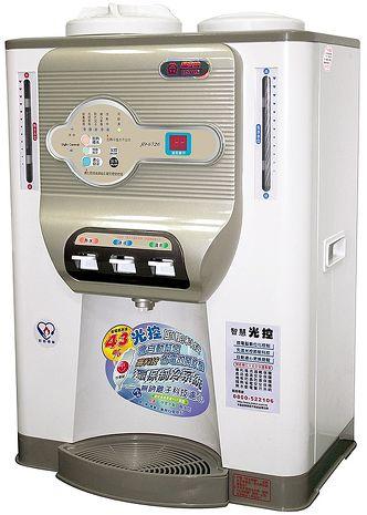 'JINKON'☆晶工牌11.69公升光控科技冰溫熱開飲機 JD-6721