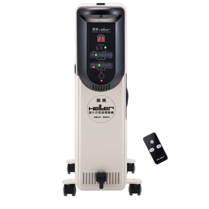 'HELLER'☆嘉儀 葉片式 10片 電暖爐 KED-510T/KED510T