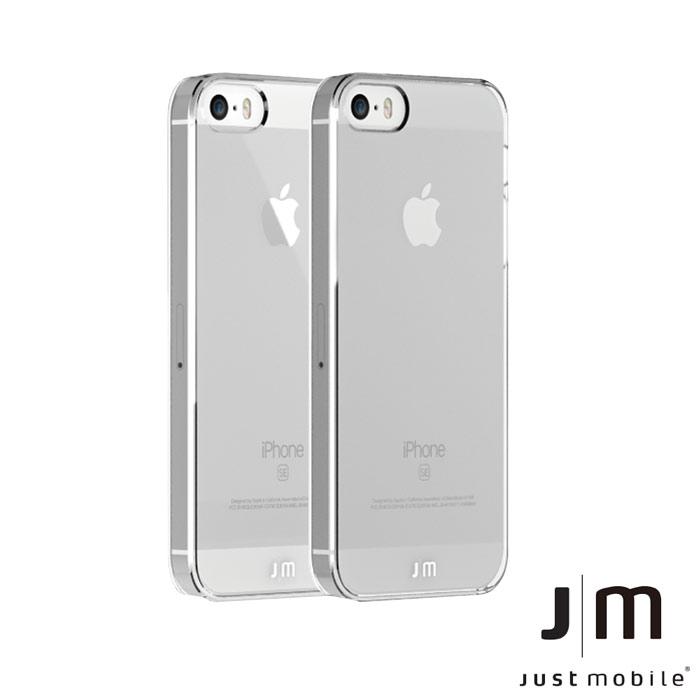 Just Mobile TENC iPhone SE國王新衣自動修復保護殼