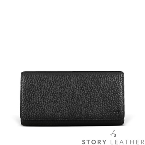 STORY皮套王 HTC M9+ Plus 橫式腰掛 荔枝紋黑現貨皮套 06588-109