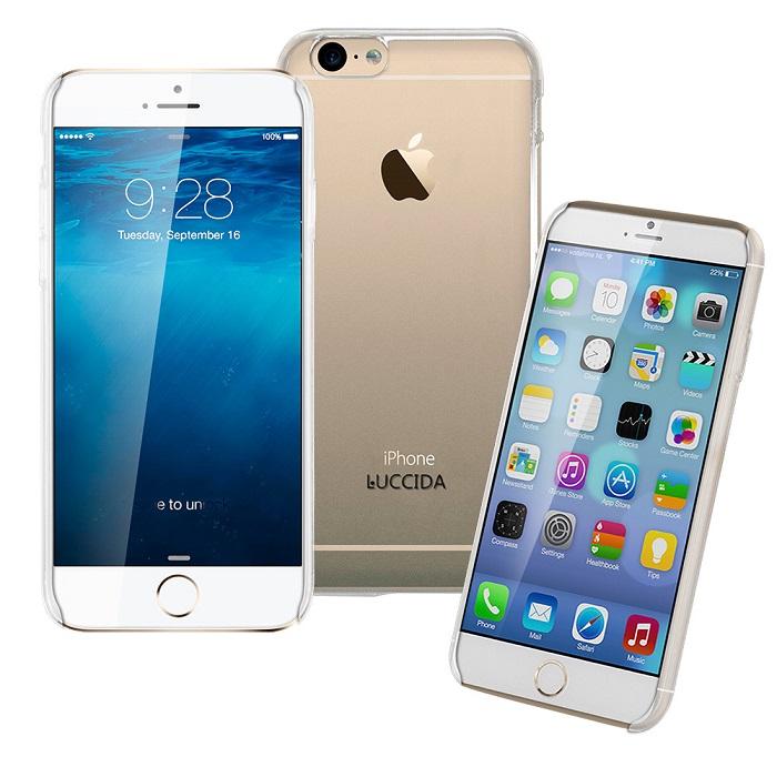 LUCCIDA Apple iPhone6 全透明加強抗刮硬式保護殼