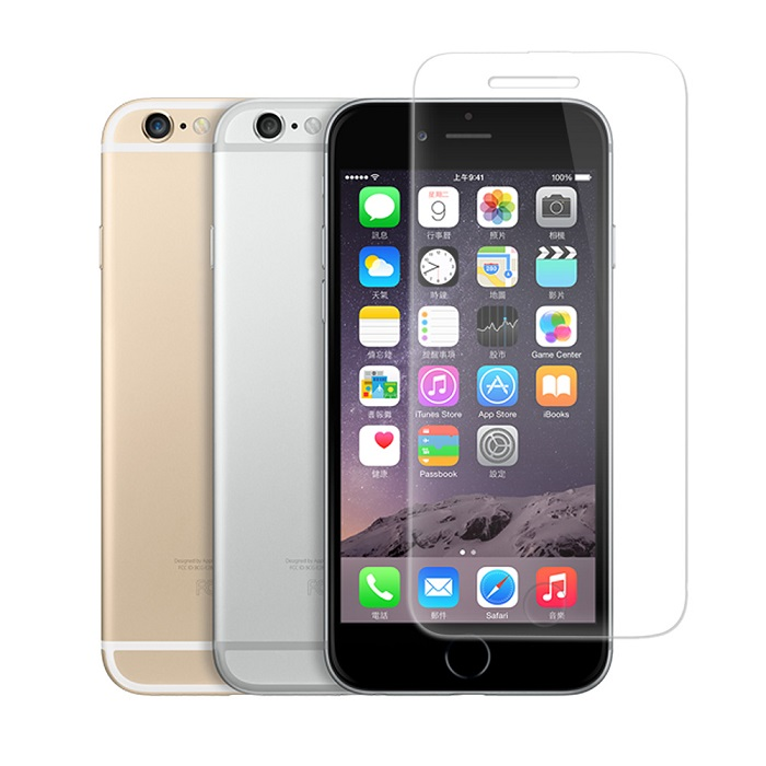 LUCCIDA Apple iPhone 6 (4.7吋) 9H超硬度防爆鋼化玻璃保護貼