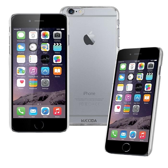LUCCIDA Apple iPhone 6 PLUS 5.5吋 全透明加強抗刮硬式保護殼