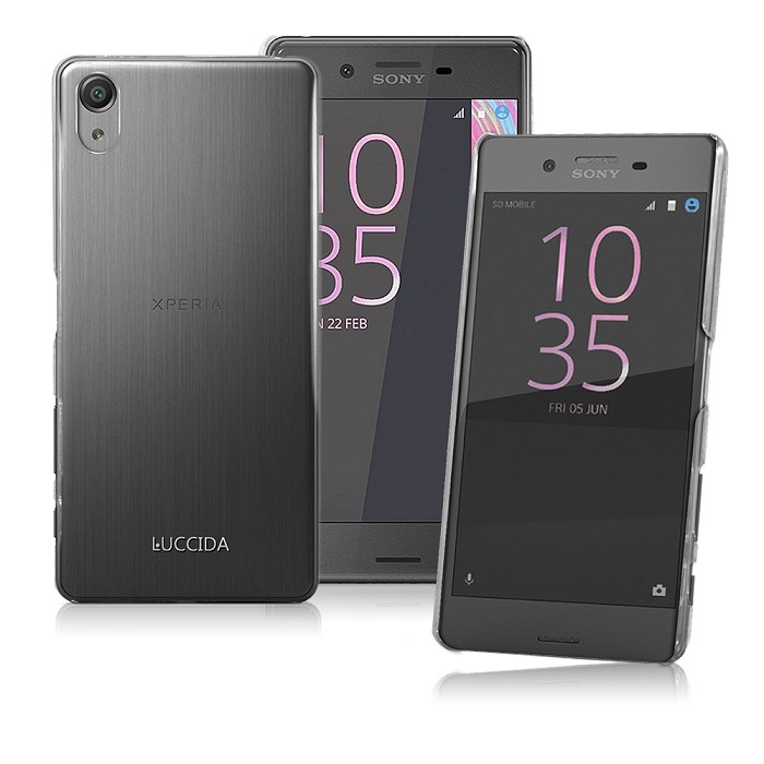 LUCCIDA SONY Xperia X Performance 全透明加強抗刮保護殼