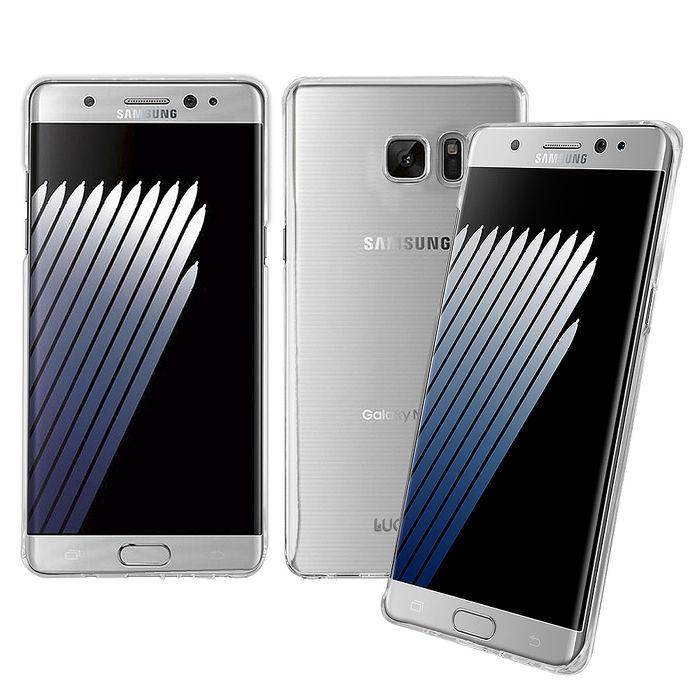 LUCCIDA Samsung Galaxy Note7 全透明加強抗刮保護殼