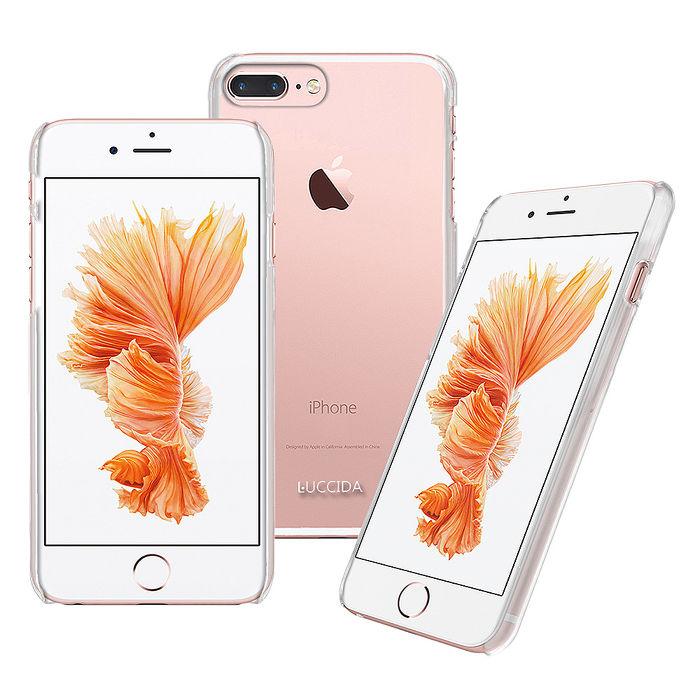LUCCIDA Apple iPhone 7 Plus 全透明加強抗刮硬式保護殼