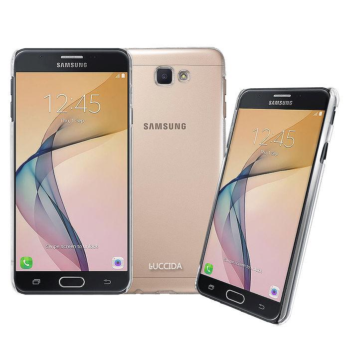 LUCCIDA SAMSUNG Galaxy J7 Prime 全透明加強抗刮保護殼