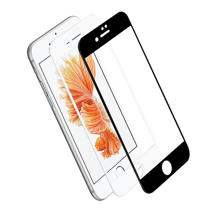 LUCCIDA Apple iPhone 6/6S Plus 9H鋼化玻璃貼【3D滿版】黑